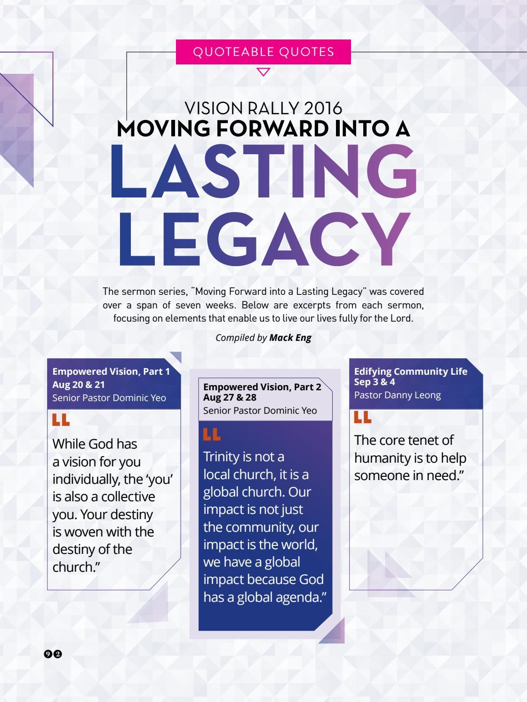 Trinitarian Magazine Issue 4/2016 by Trinity Christian Centre - issuu