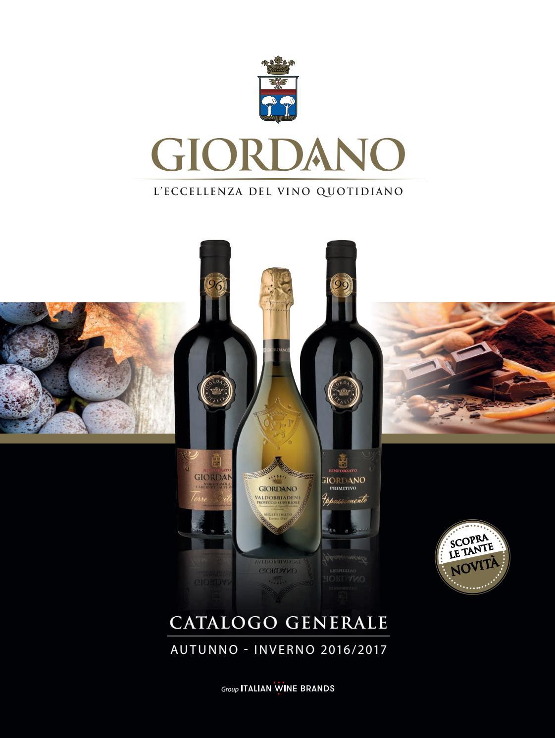 catalogo prodotti giordano vini by giordano vini spa issuu
