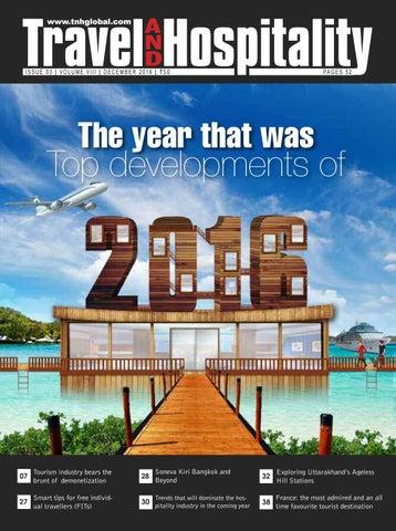 Travel and Hospitality (TnH) - December 2016 by Prem Sagar