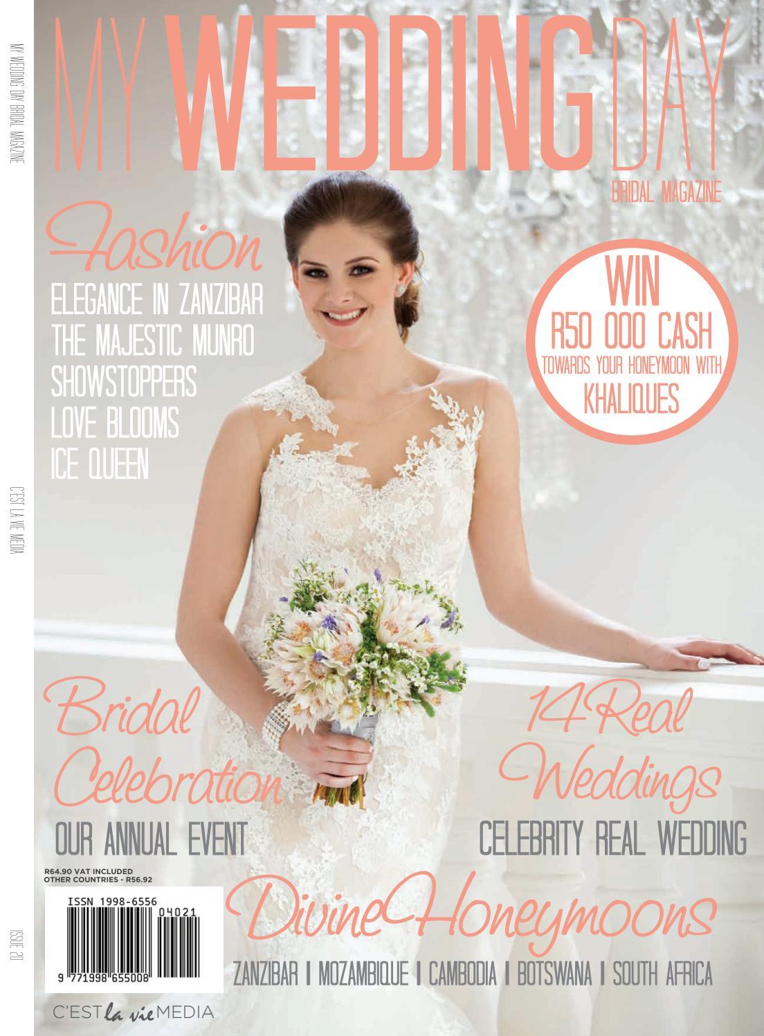 My Wedding Day Bridal Magazine Issue 20 by My Wedding Day - issuu