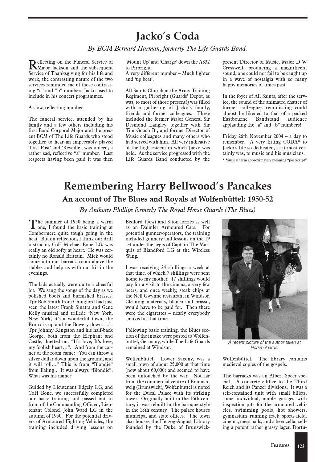 Household Cavalry Journal 2004 by RHG/D Reg Sec - issuu