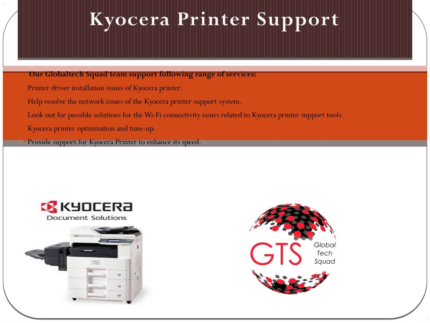 kyocera printer support Toll Free:1-800-294-5907 by Crystal