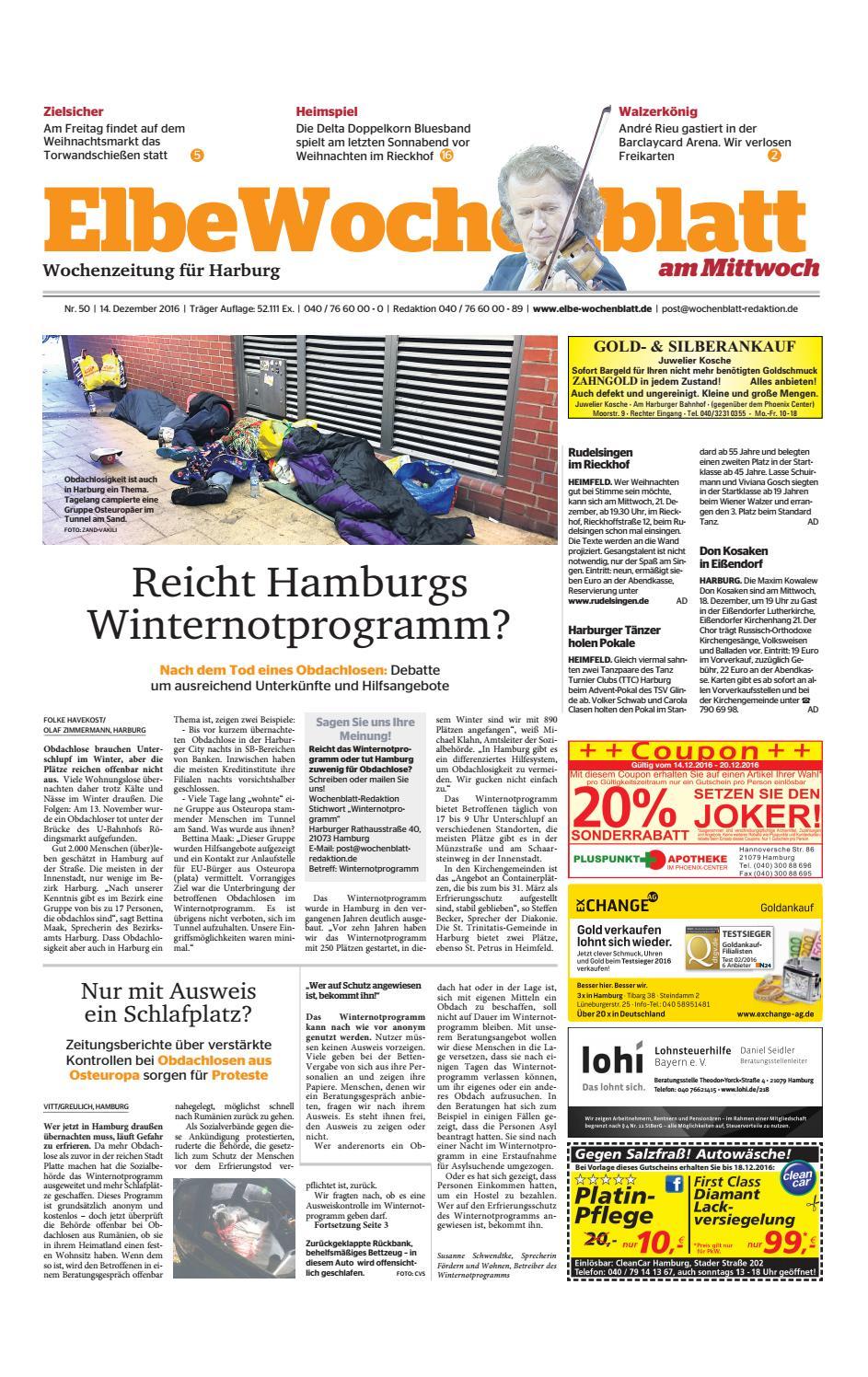 Harburg KW50-2016 by Elbe Wochenblatt Verlagsgesellschaft mbH & Co ...