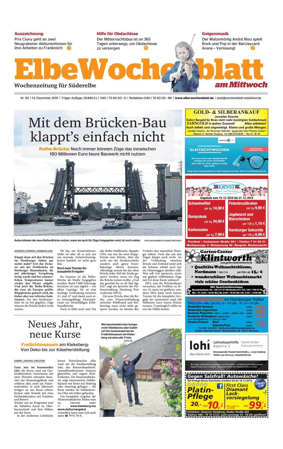 Süderelbe KW50-2016 by Elbe Wochenblatt Verlagsgesellschaft mbH & Co ...