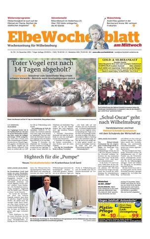 Wilhelmsburg KW50 2016 by Elbe Wochenblatt Verlagsgesellschaft mbH