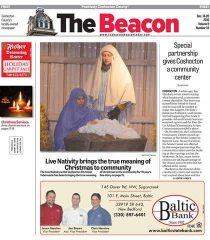 December 14 2016 Coshocton County Beacon By The Coshocton County