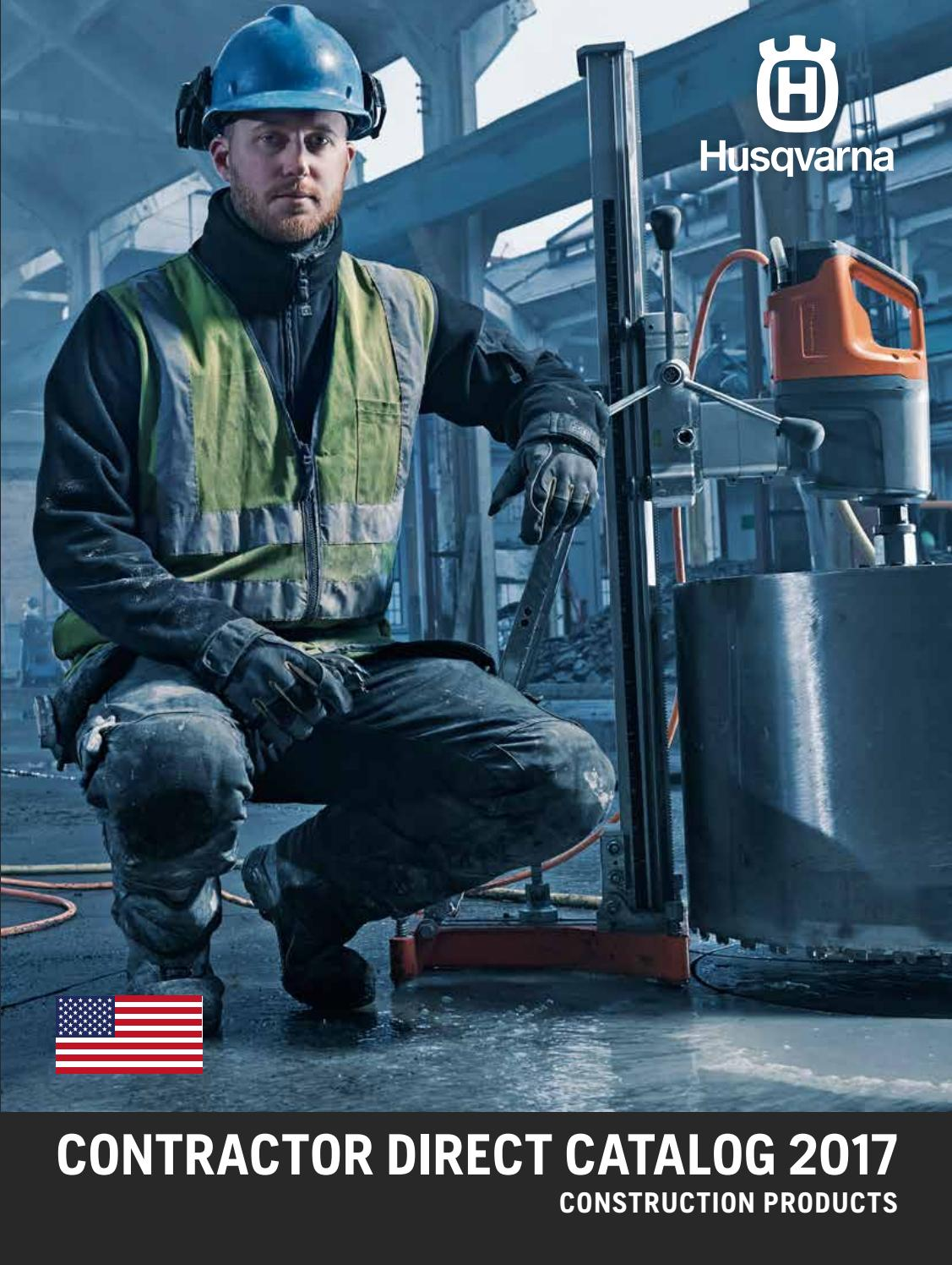 2017 Husqvarna Us Contractor Direct Catalog By Gasoline Generator Accessoriesspare Partscircuit Breaker Fits For Construction Products Issuu