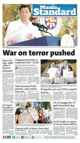 f87864e25d6 Manila Standard - 2016 December 14 - Wednesday by Manila Standard ...