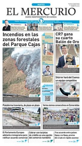 hemeroteca 13-12-2016 by Diario El Mercurio Cuenca - issuu 56d480e1bf6