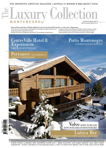 37d7ea09f39 The Luxury Collection Montenegro vol. 17
