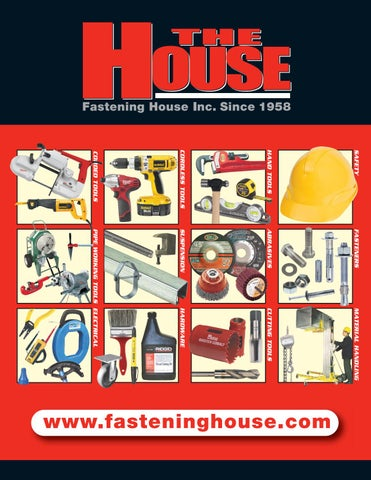 4a4d1a7f9f28 Fastening House Product Catalogue by The Fastening House - issuu