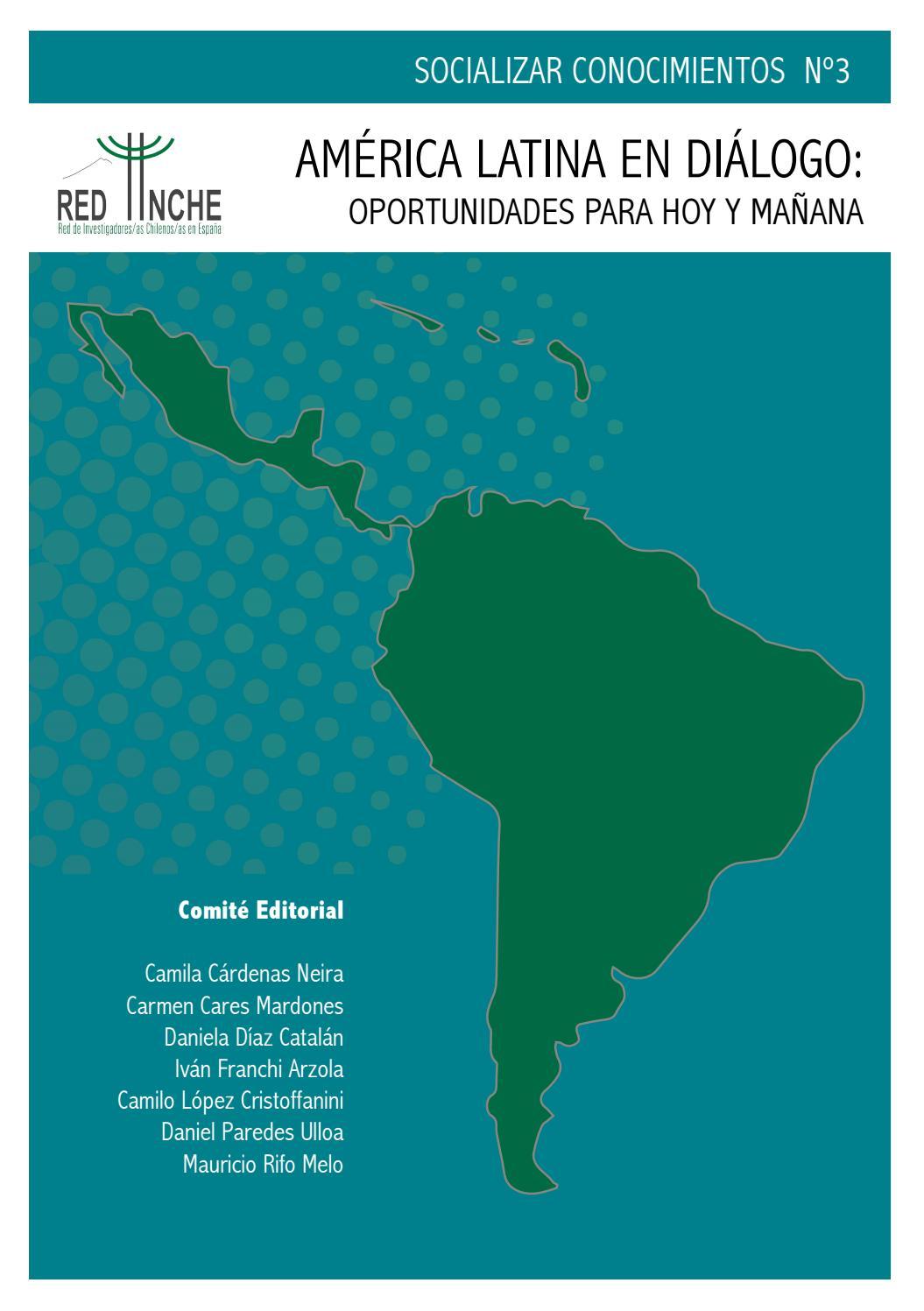 Socializar conocimientos número 3 (Red INCHE) by Red INCHE - issuu