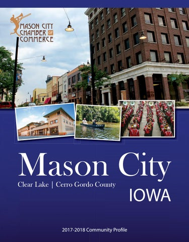 Mason City IA Chamber Guide By Town Square Publications LLC
