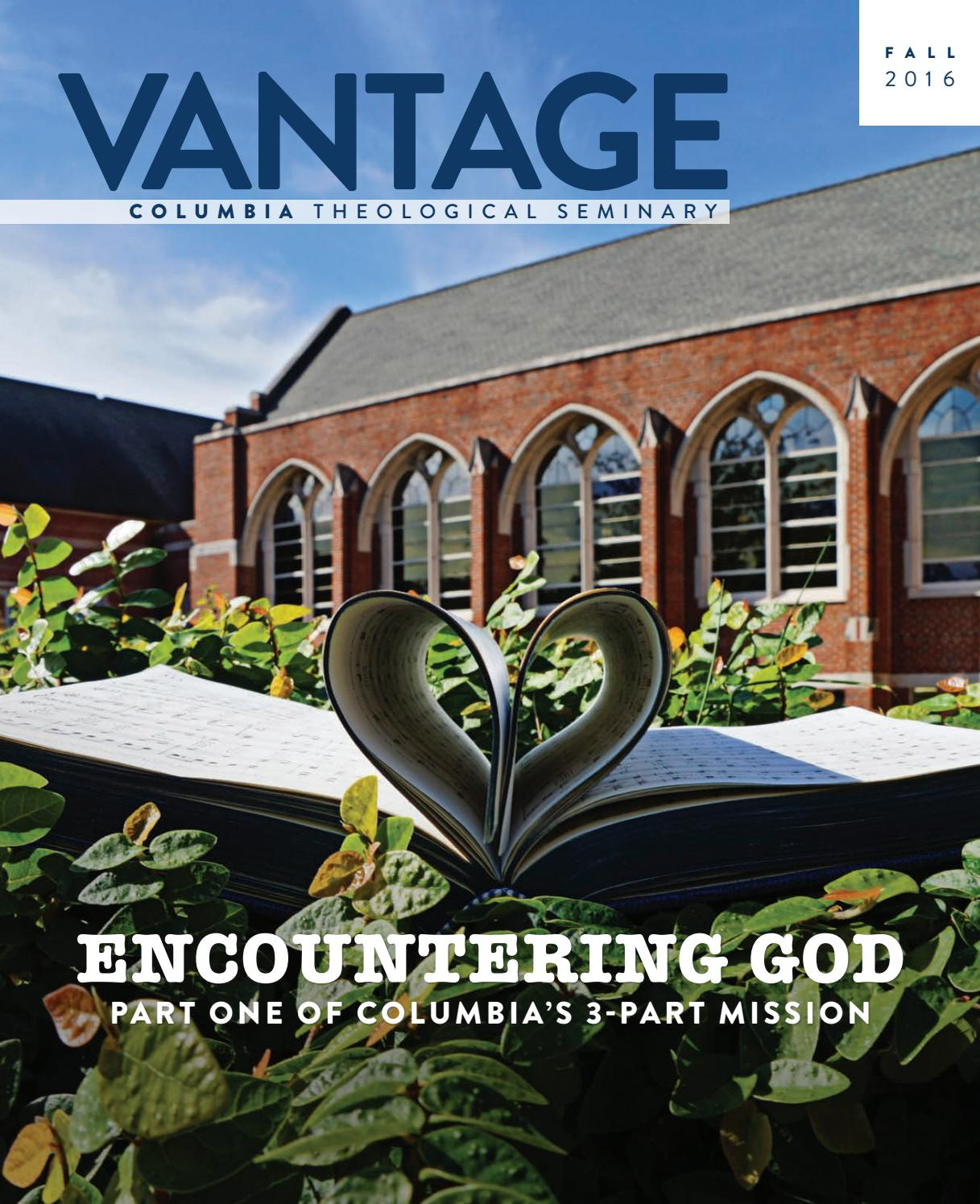 6f5257de26 Vantage Fall 2016 by Columbia Theological Seminary - issuu