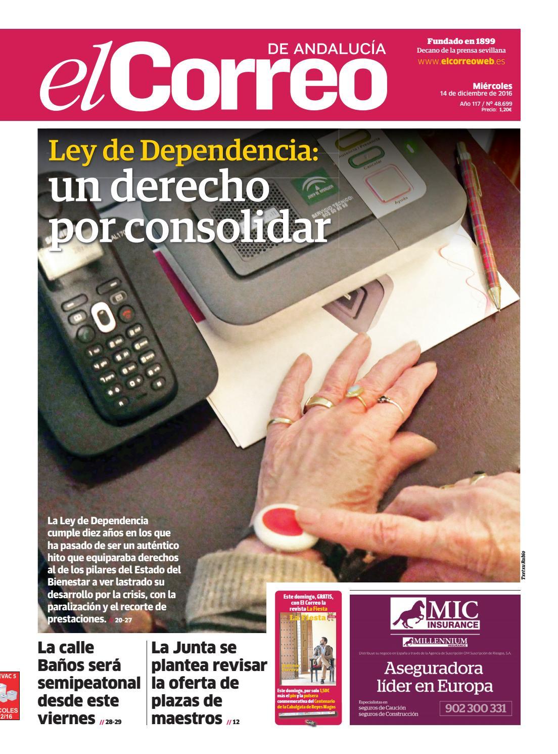 9caa01451373 14 12 2016 El Correo de Andalucía by EL CORREO DE ANDALUCÍA S.L. - issuu