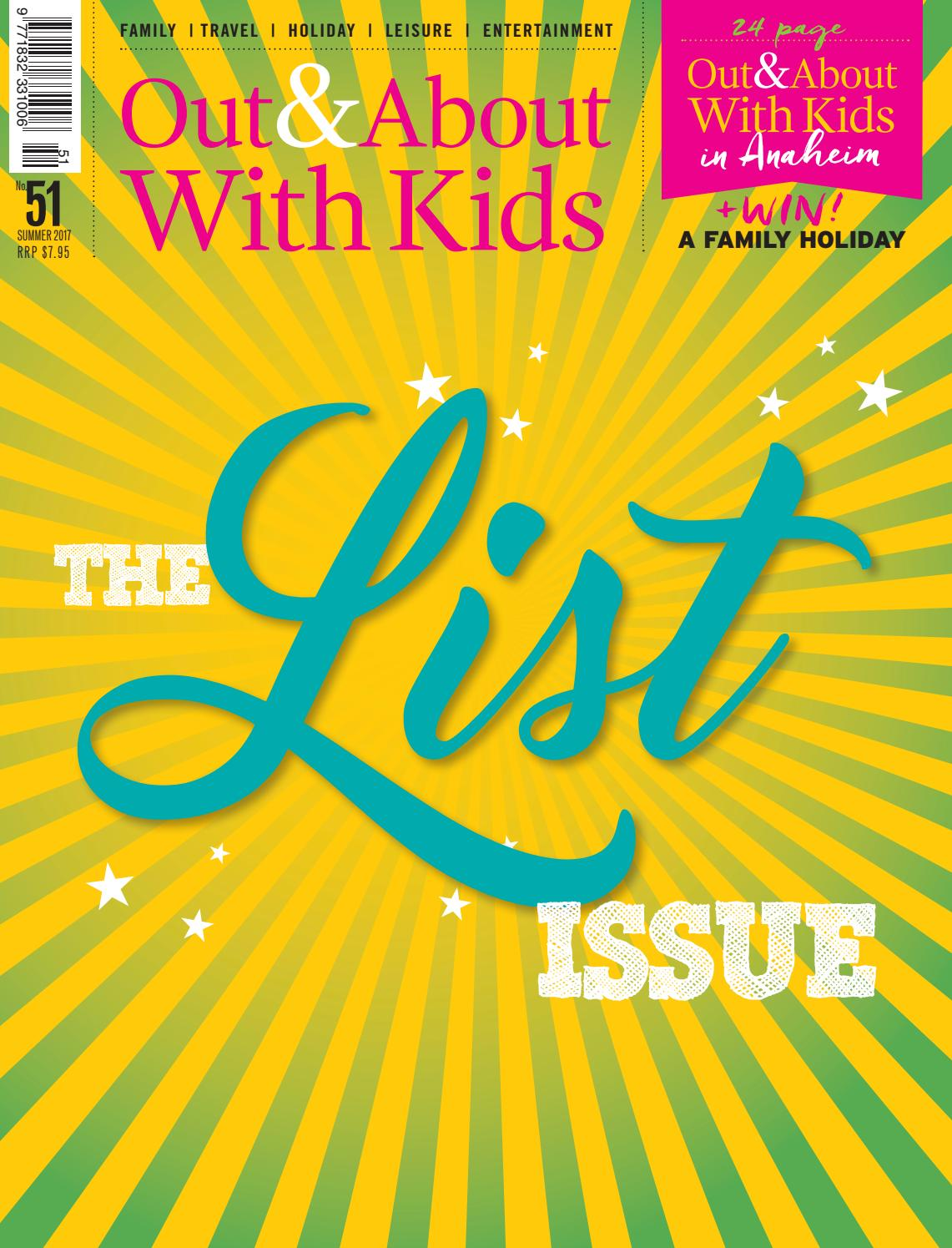 dc304dcffb Out & About with Kids #51 Summer 2016 by Out & About with kids - issuu