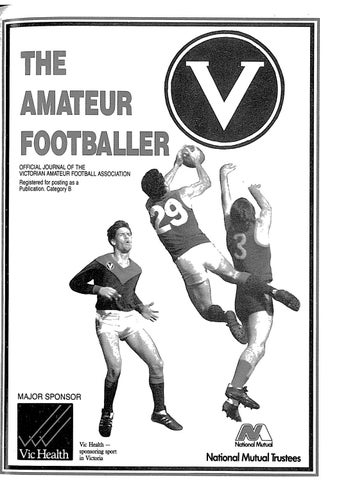 The Amateur Footballer Week 13 1991 By Andrew Leonard Issuu