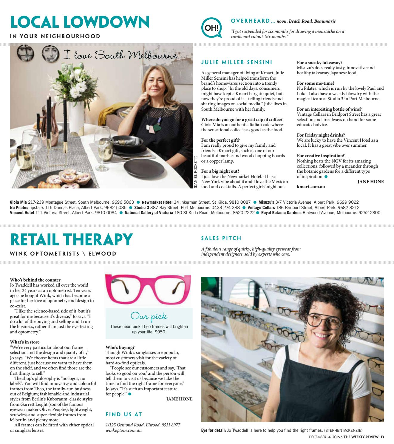 The Weekly Review Bayside & Port Phillip by The Weekly Review - issuu