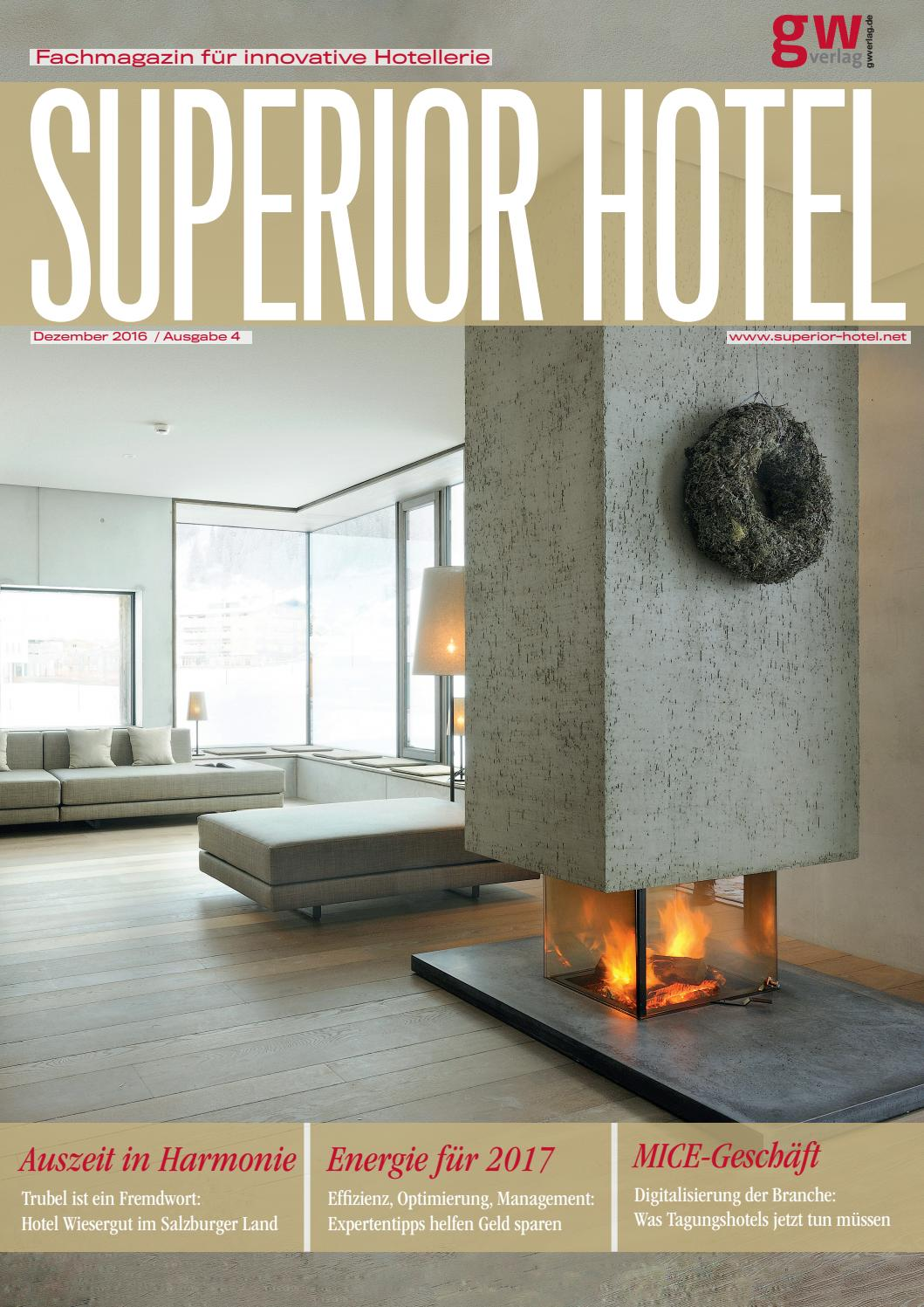 Superior Hotel 4/2016 by GW VERLAG - issuu