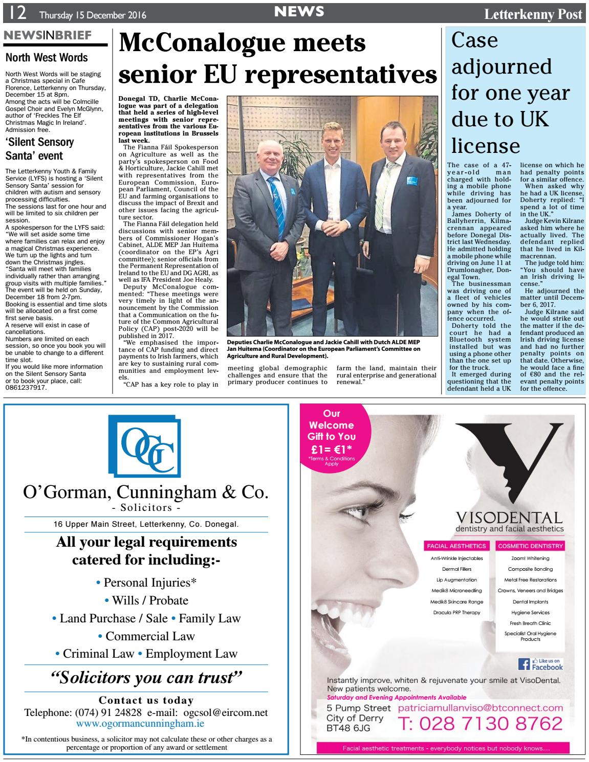 Letterkenny post 15 12 16 by River Media Newspapers - issuu