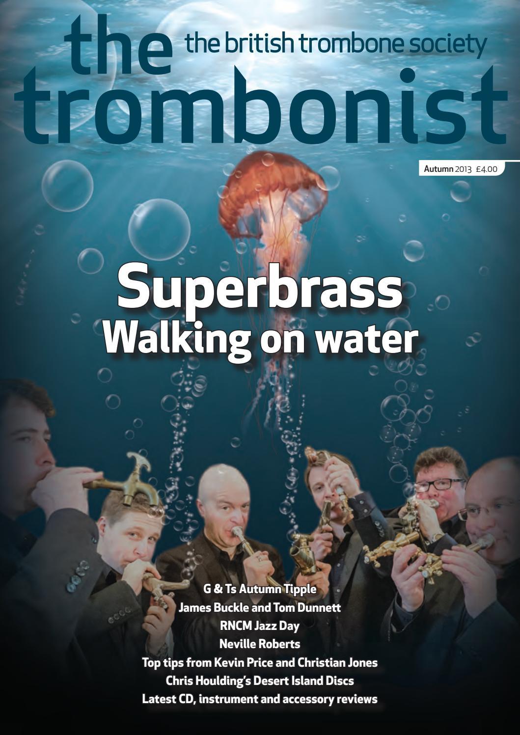 Andrea Berg Oops the trombonist - autumn 2013british trombone society - issuu