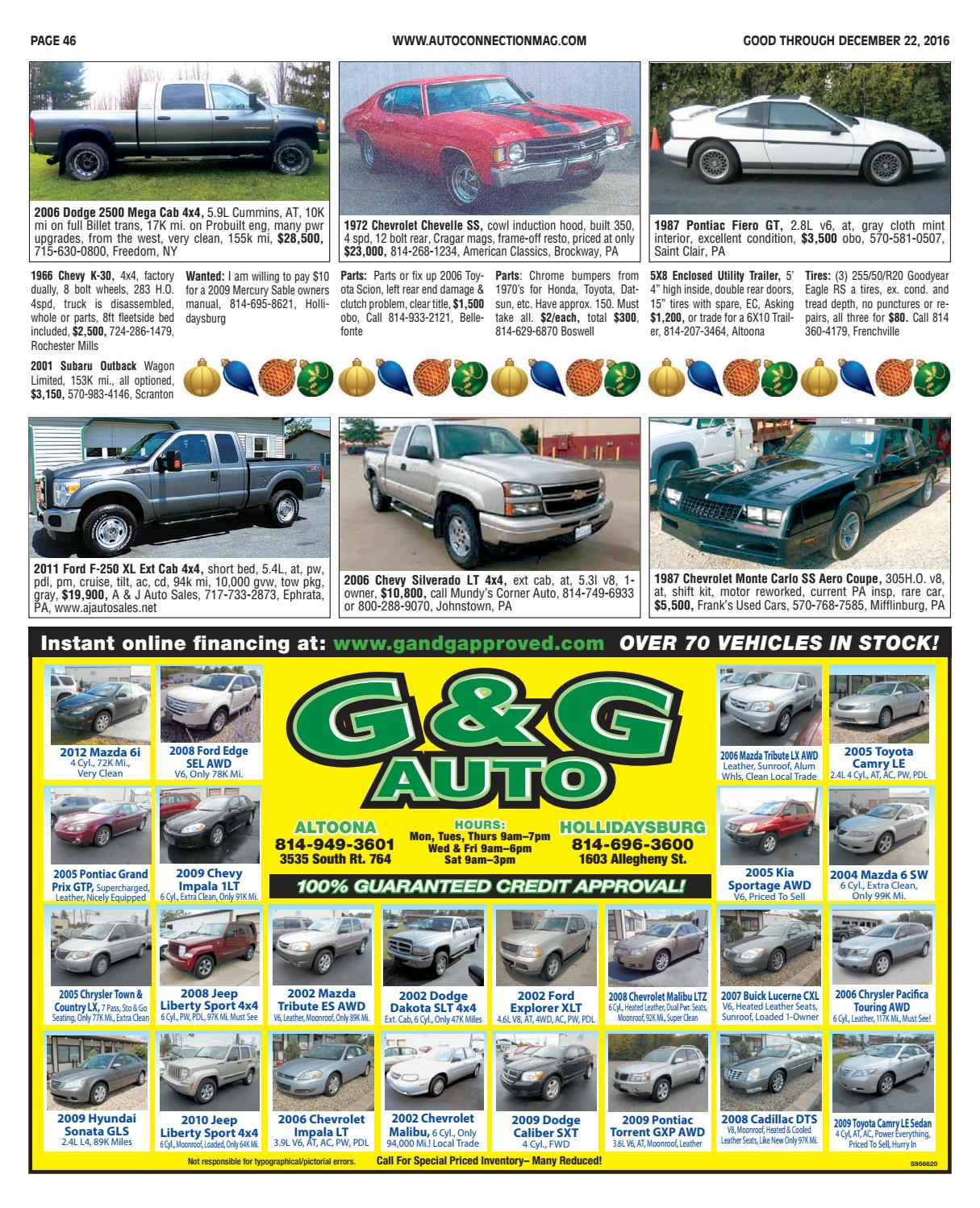 12-22-16 Auto Connection Magazine by Auto Connection Magazine - issuu