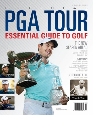 f00cdfa76cf Official PGA TOUR Essential Guide to Golf 2016 17 Part 1 by Magazine ...