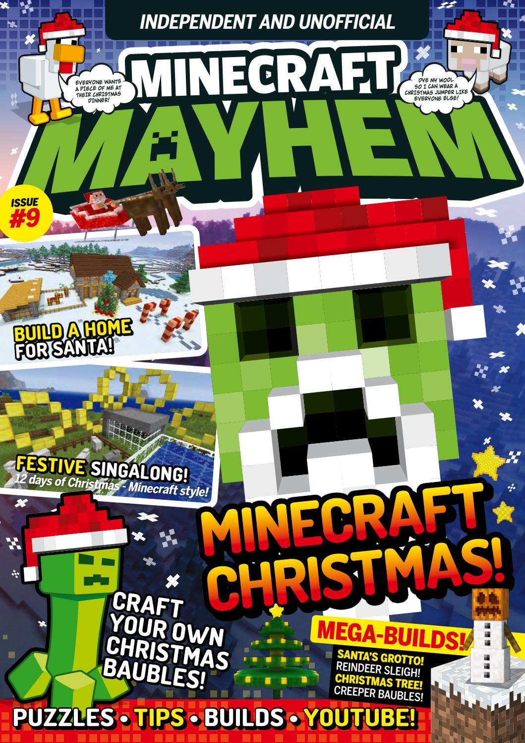 How To Make A Book Minecraft Xbox ~ Minecraft mayhem 09 sampler by future plc issuu