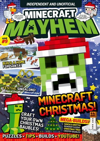 Christmas Minecraft Santa.Minecraft Mayhem 09 Sampler By Future Plc Issuu