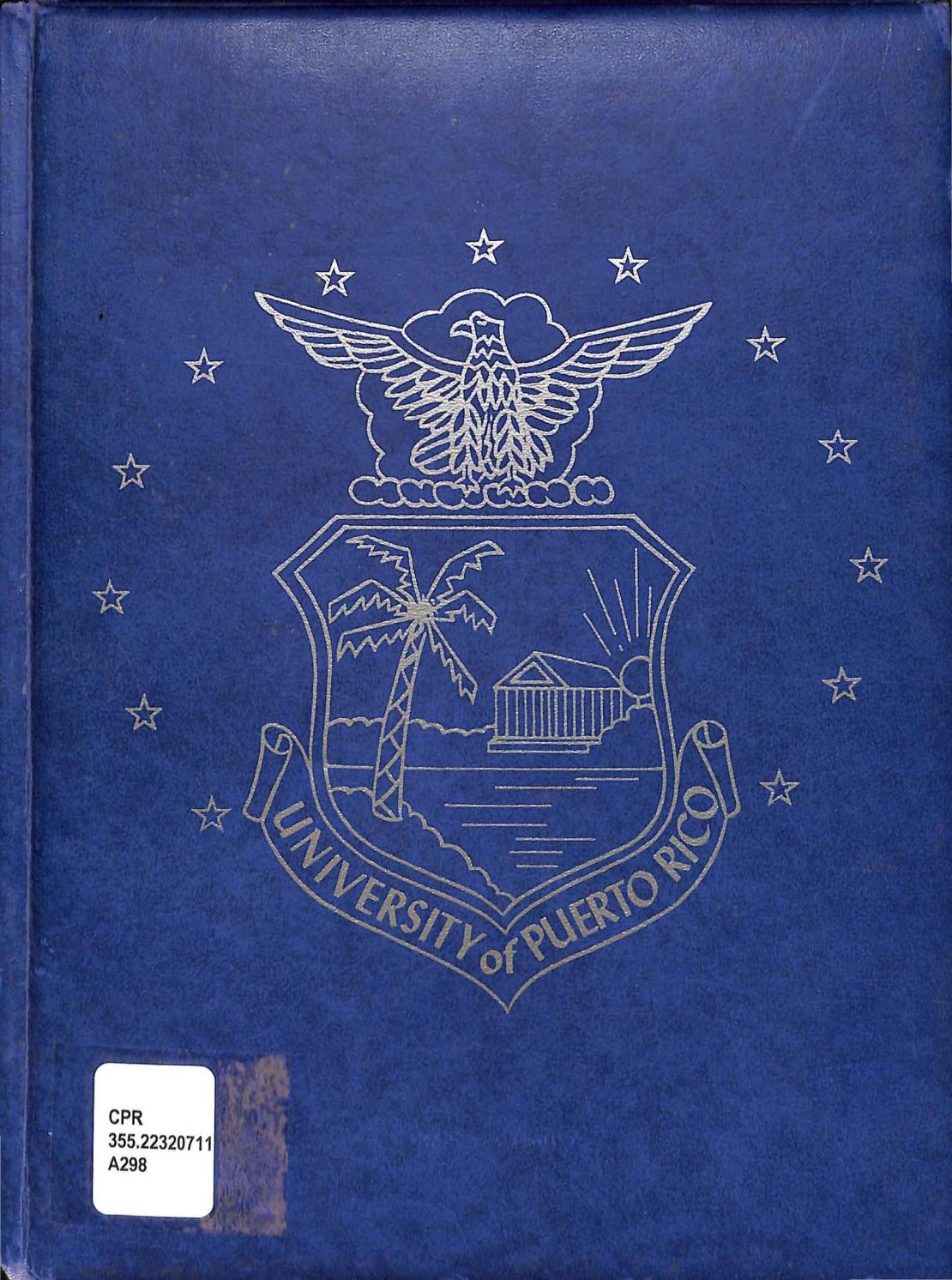 Air Force Rotc Yearbook 1962 By Colecci N Puertorrique A Upr Rp  # Muebles Gustavo Martin