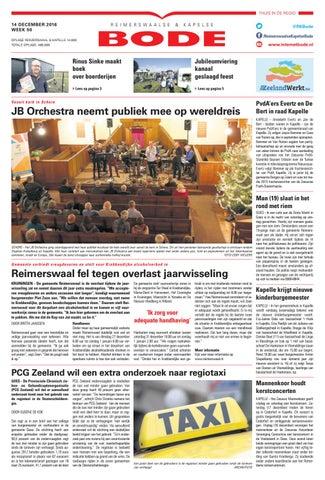 e4d48fe9b67 de Reimerswaalse en Kapelse Bode 14-12-2016 by Uitgeverij de Bode ...