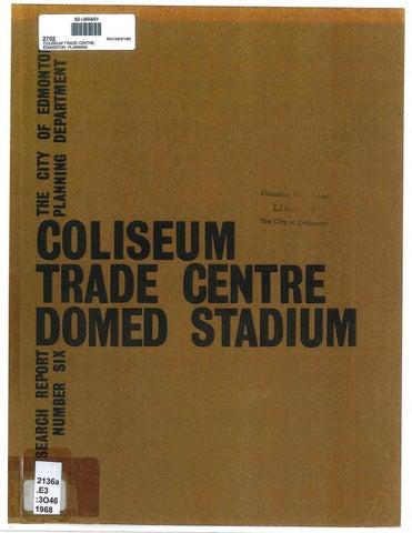 Edmonton (Alta ) - 1968 - A coliseum, trade centre or domed
