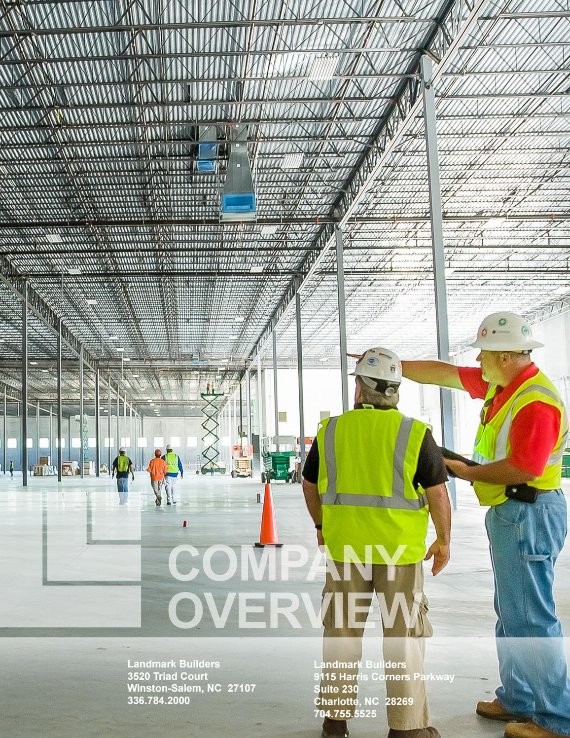 Company Overview By Landmark Builders