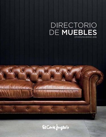 El Corte Inglés Directorio de Muebles by André Gonçalves - issuu