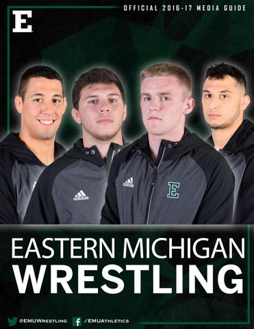 2aebbd7d944 2016 17 wrestlingmedia guide by Eastern Michigan University ...