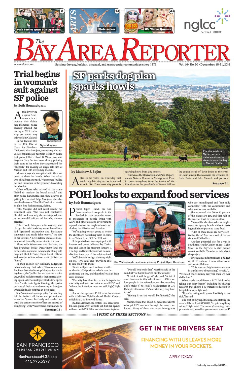 Bay Area Reporter : December edition of the bay area reporter by
