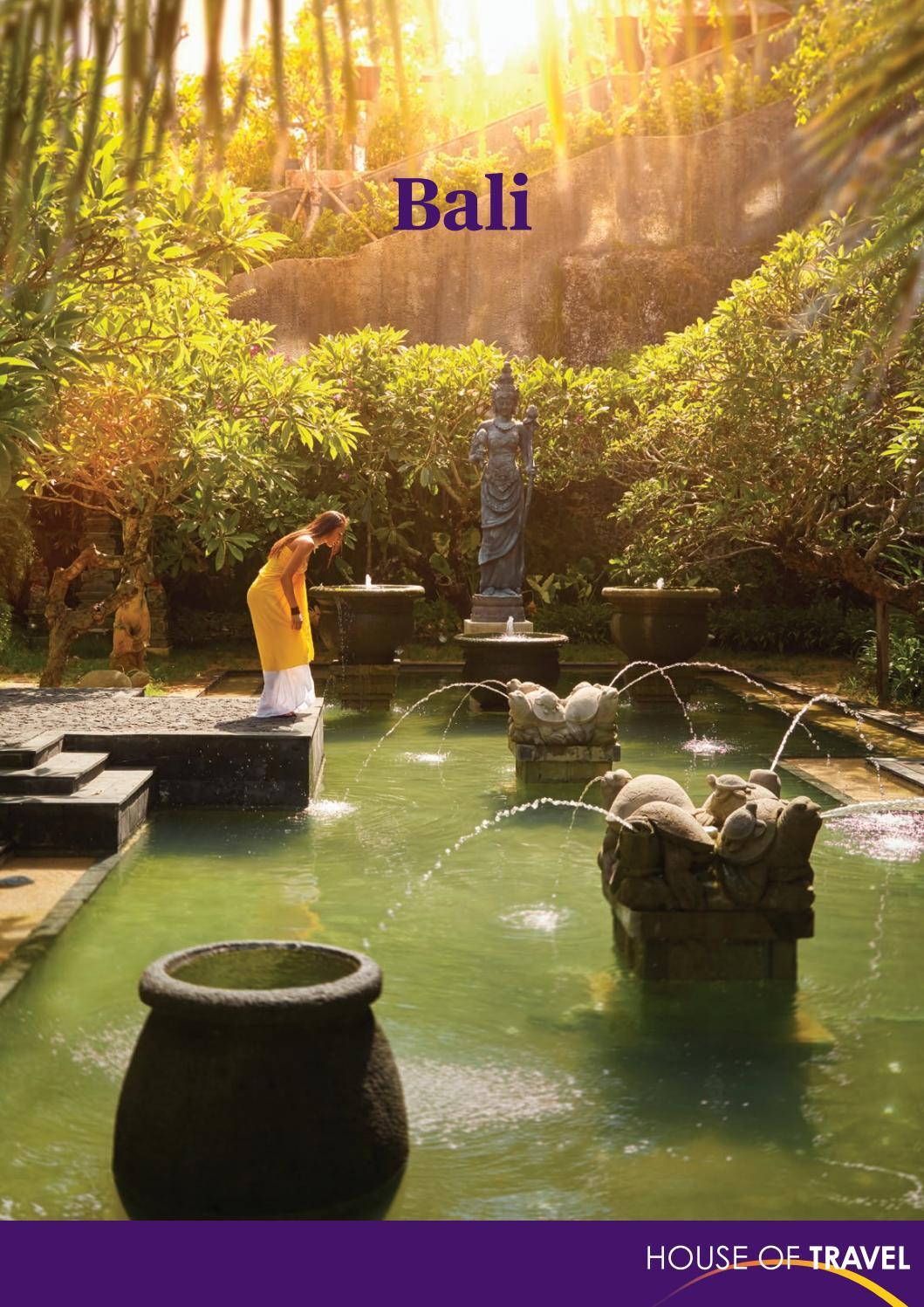 Bali Brochure 2017 By House Of Travel Issuu