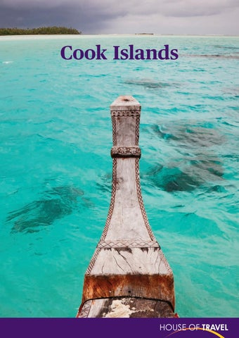 42fd14e05ad Cook Islands Brochure 2017 by House of Travel - issuu