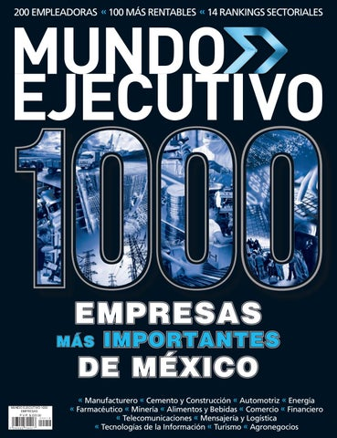 Las mil empresas 2016 by Grupo Internacional Editorial - issuu 0522dd3d48d7