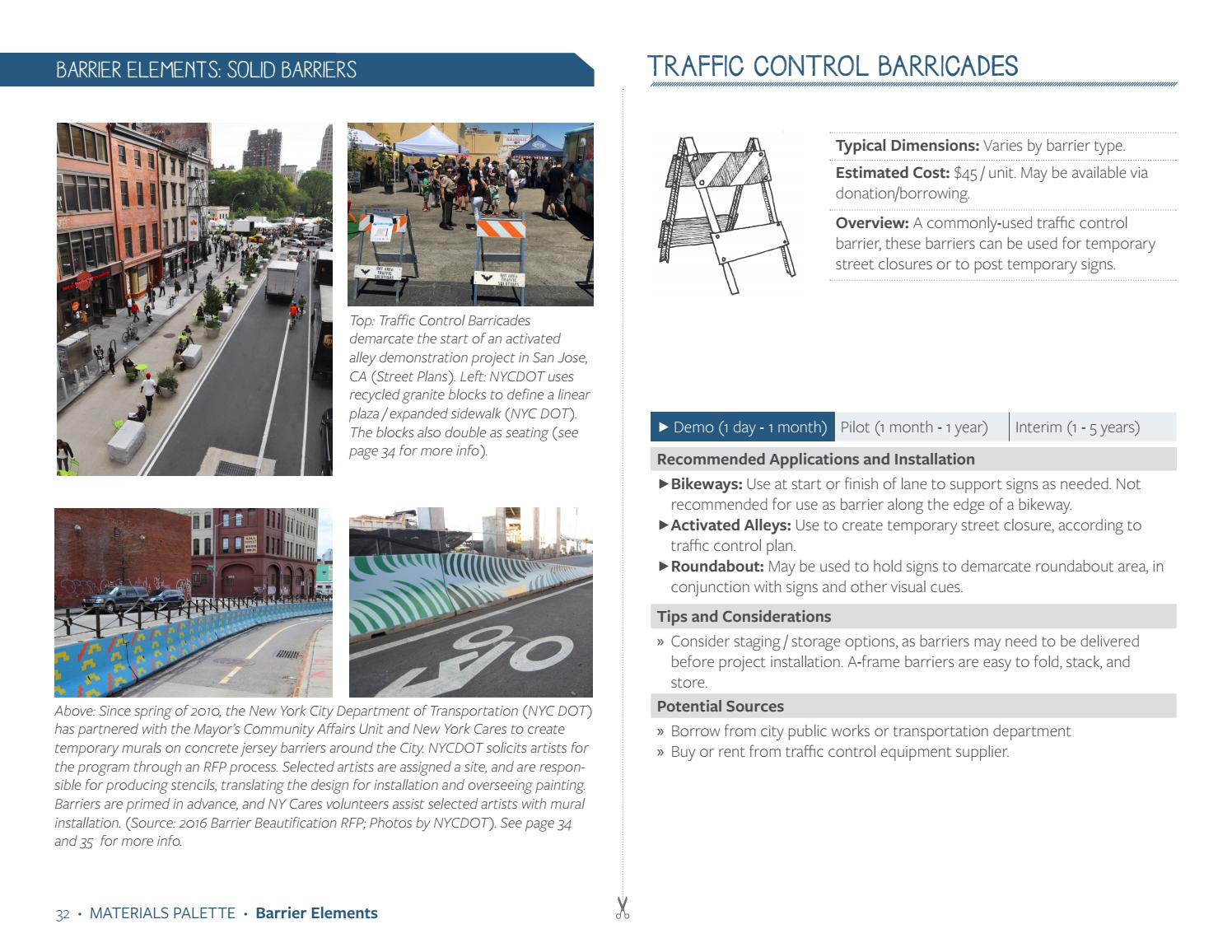 Tactical Urbanist's Guide to Materials and Design v 1 0 by