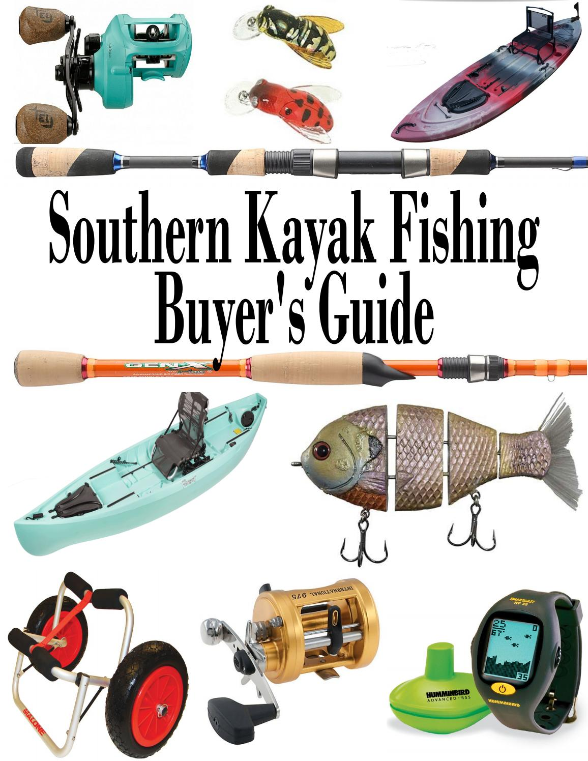 Buyer S Guide To Wardrobes: Southern Kayak Fishing Buyer's Guide By Southern Unlimited