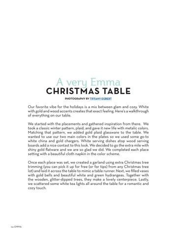 Page 14 of A Very Emma Christmas Table