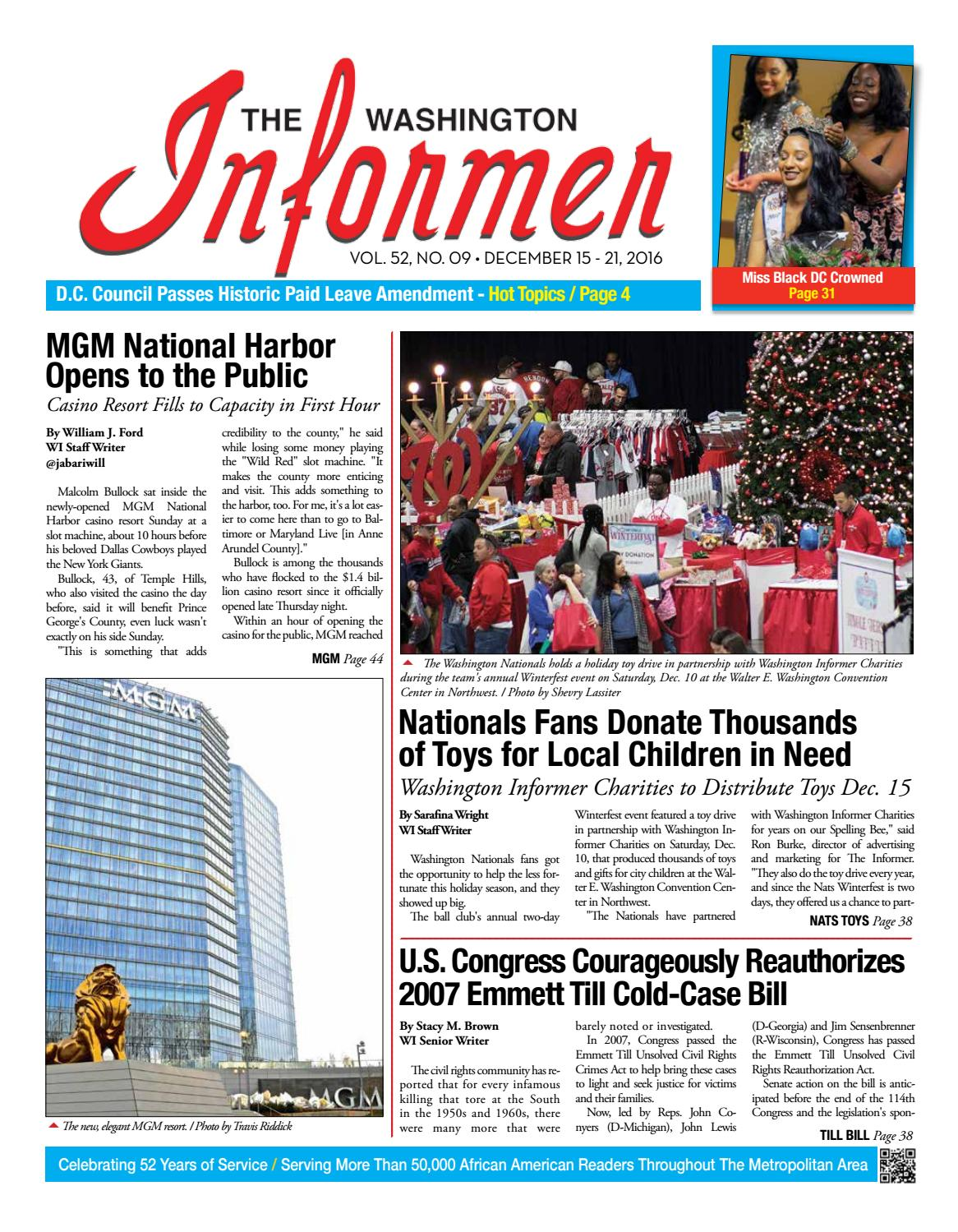 The Washington Informer - December 15, 2016 by The Washington ...