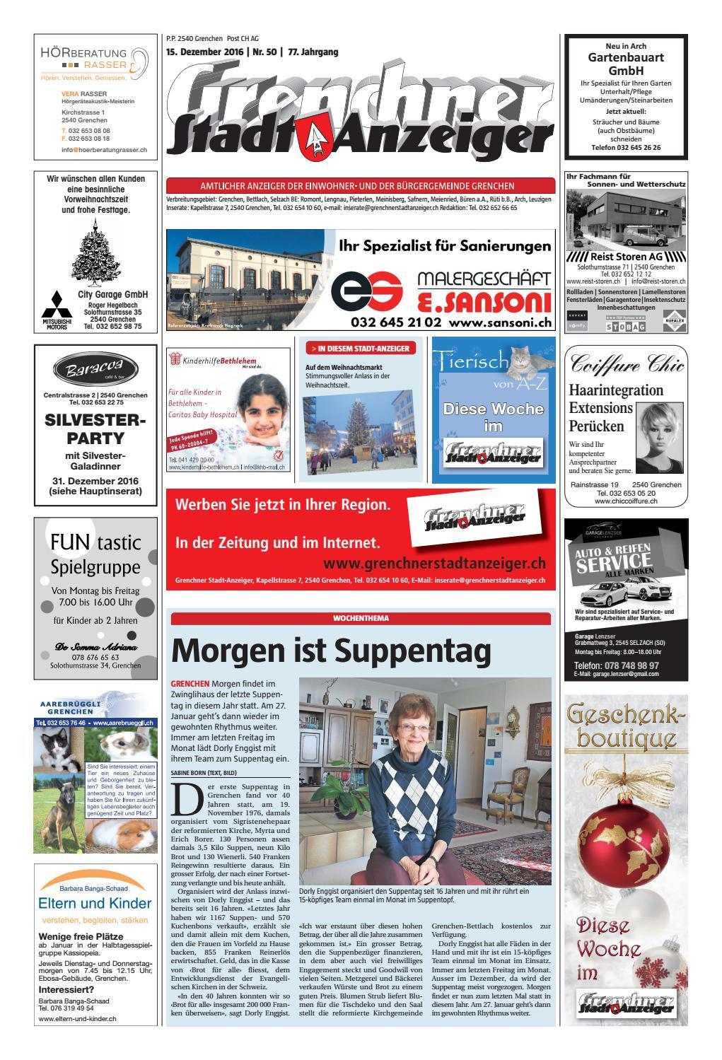 20161215 woz gsaanz by AZ-Anzeiger - issuu