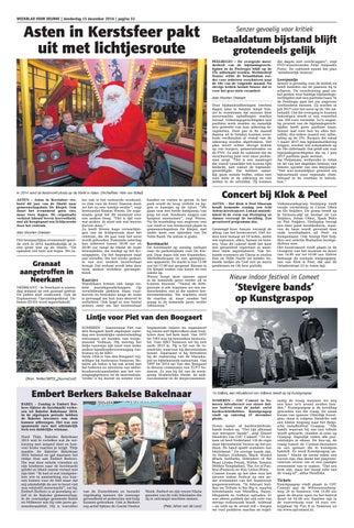 Weekblad Voor Deurne Wk50 By Das Publishers Issuu