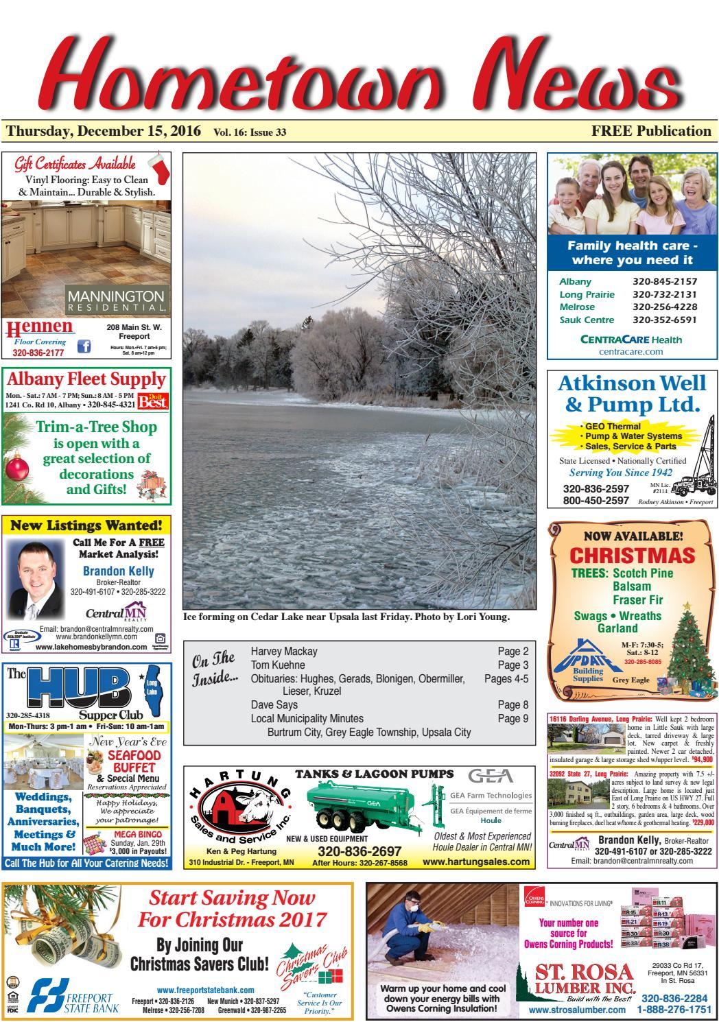 hometown news december 15 2016 by hometown news issuu
