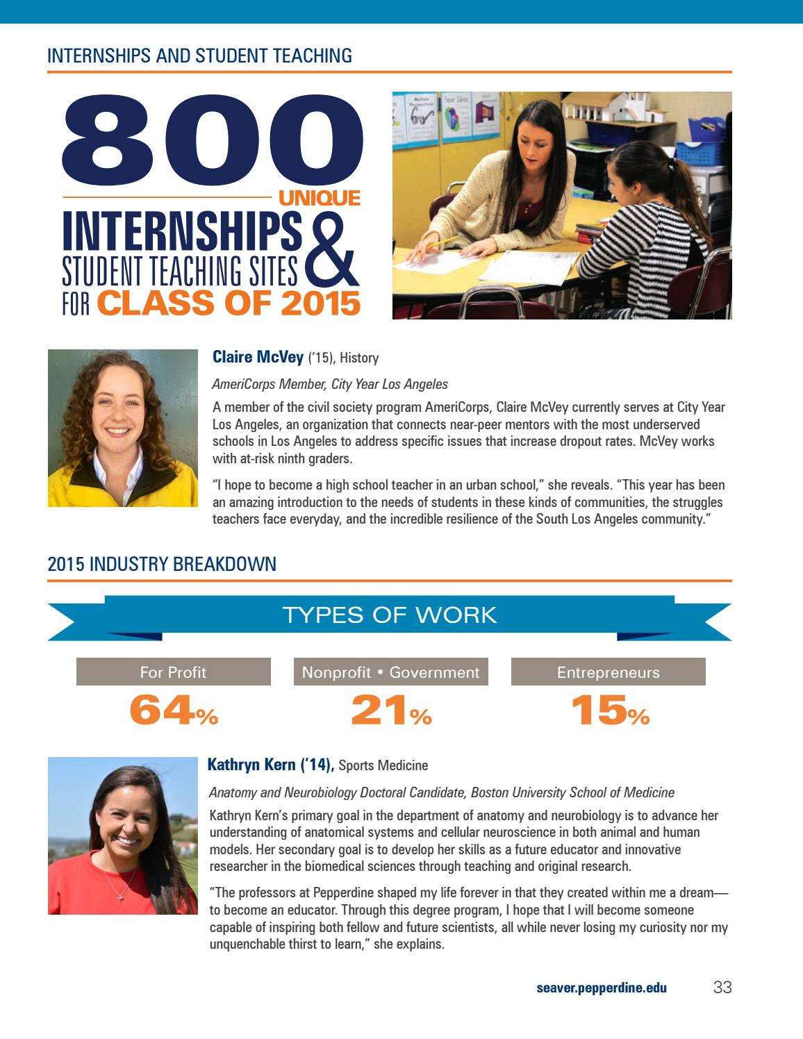 Seaver College Highlights 2015-16 by Pepperdine University - issuu