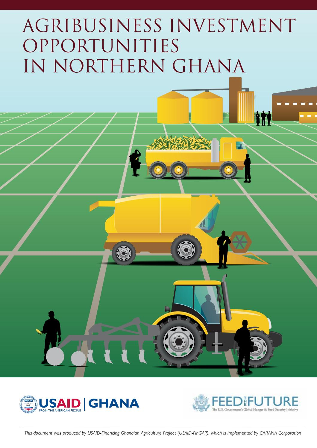 USAID-FinGAP Agribusiness Investment Opportunities in Northern Ghana