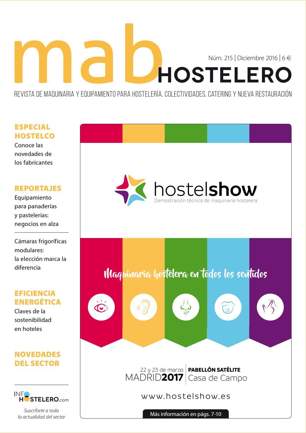 MAB Hostelero - 215 by Peldaño - issuu d4eeb98530e