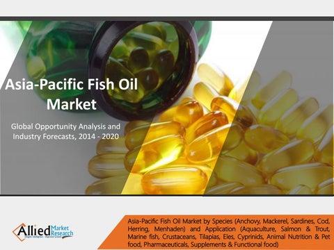 Asia pacific fish oil market will reach 1 5 billion by for Pacific fish market